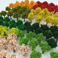 Diorama : 90 Trees  NGauge  ( DauStage ) - Small Figures