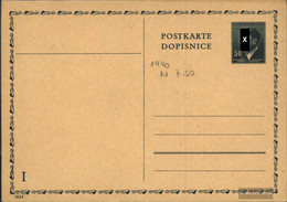 Bohemia And Moravia P16 Official Postcard Unused Mi.-number.: P16 Official Postcard - Boemia E Moravia