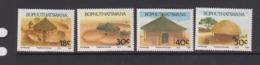 South Africa-Bophuthatswana SG 227-230 1989 Traditional Houses,Mint Never Hinged - Bophuthatswana