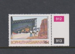 South Africa-Bophuthatswana SG R137b 1988 Industries,16c Brick Factory,reprint ,Mint Never Hinged - Bophuthatswana