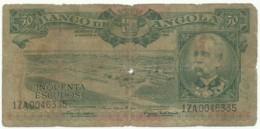 Angola - 50 Escudos - 15.08.1956 - Pick 88 - Série 1 ZA - Henrique De Carvalho - PORTUGAL - Angola