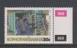 South Africa-Bophuthatswana SG R140 1989 Industries,30c Spray Painting,reprint ,Mint Never Hinged - Bophuthatswana