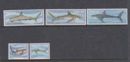 South Africa-Ciskei Scott 54-58 1983 Sharks,Mint Never Hinged - Ciskei