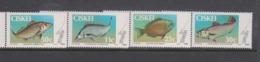 South Africa-Ciskei Scott 69-72 1985 Game Fish,Mint Never Hinged - Ciskei