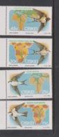 South Africa-Ciskei Scott 73-76 1984 Migratory Birds,Mint Never Hinged - Ciskei