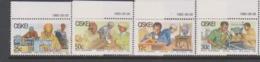 South Africa-Ciskei Scott 81-84 1985 Small Business,Mint Never Hinged - Ciskei