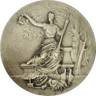 France, Médaille, Art Nouveau, Agriculture, Mattei, SPL, Silvered Bronze - Autres