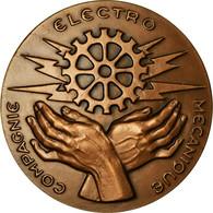 France, Médaille, Compagnie Electro Mécanique, 1979, SPL, Bronze - Autres
