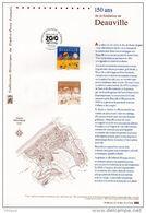 """"""" DEAUVILLE """" Sur Document Philatélique Officiel 1°Jour De 2010. N° YT 4452. DPO - 2010-...."""