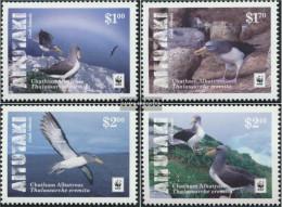 Aitutaki 962-965 (complete Issue) Unmounted Mint / Never Hinged 2016 Chatham-Albatros - Aitutaki