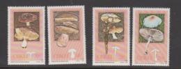 South Africa-Ciskei Scott 102-105 1987 Edible Mushrooms,Mint Never Hinged - Ciskei