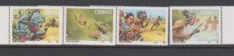 South Africa-Ciskei Scott 114-117 1987 Folklore,Mint Never Hinged - Ciskei