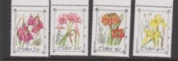 South Africa-Ciskei Scott 118-121 1988 Endangered Plant,Mint Never Hinged - Ciskei
