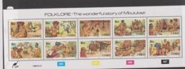 South Africa-Ciskei Scott 122a 1988 Folklore Sheetlret,Mint Never Hinged - Ciskei
