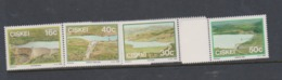 South Africa-Ciskei Scott 131-134 1989 Dams,Mint Never Hinged - Ciskei