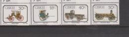 South Africa-Ciskei Scott 143-146 1989 Early Transportation,Mint Never Hinged - Ciskei