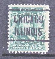 U.S. 300  (o)  CHICAGO, ILL   1902-3 Issue - Precancels
