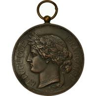 France, Médaille, Société De Tir De L'Armée Territoriale, Lyon, TTB+, Bronze - Autres