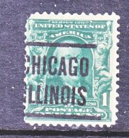 U.S. 300     (o)     CHICAGO - Precancels