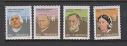 South Africa-Transkei SG 125-128 1983 Celebrities Of Medicine,Mint Never Hinged - Transkei