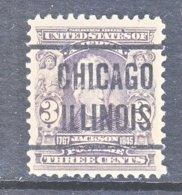U.S. 302     (o)    CHICAGO - Precancels