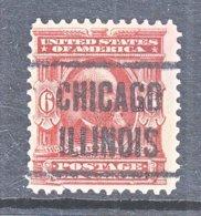 U.S. 305   Fault   (o)    CHICAGO - Precancels
