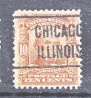 U.S. 307   (o)   . CHICAGO - Precancels