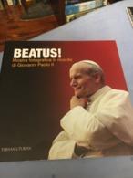 Libro Di Fotografie Papa Giovanni Paolo II BEATUS! Karol Wojtyla Per La Beatificazione Perfetto - Religione & Esoterismo