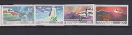 South Africa-Transkei SG 197-200 1987 10th Anniversary Airways,Mint Never Hinged - Venda