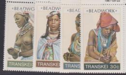 South Africa-Transkei SG 201-204 1987 Beadwork,Mint Never Hinged - Transkei