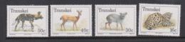 South Africa-Transkei SG 225-228 1988 Endangered Animals,Mint Never Hinged - Transkei