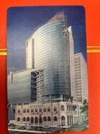 MACAU 1997 OPENING THE NEW BNU BUILDING SPECIAL PHONE CARDS ISSUED BY MACAU CTM IN A FOLDER. VERY FINE - Macau