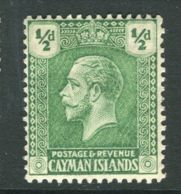 Cayman Islands, 1921, SG 70, Mint Hinged - Cayman Islands
