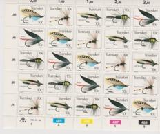 South Africa-Transkei SG S99-103 1982 Fishing Flies 3rd Series Sheetlet,Mint Never Hinged - Transkei