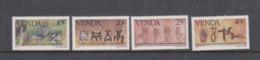 South Africa-Venda SG 87-90 1983 History Of Writing 3rd Series,Mint Never Hinged - Venda
