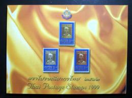 Thailand Stamp Year Book 1999 + 500 Baht - Thailand