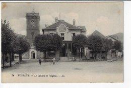 88 - BUSSANG - La Mairie Et L'Eglise - Animée - 1926  (V13) - Bussang