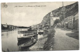 Dinant - La Meuse Au Rivage En Aval (G. Hermans 118) - Dinant