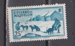 SAINT PIERRE ET MIQUELON          N° YVERT   174    NEUF SANS GOMME        ( SG     01/35  ) - St.Pierre & Miquelon