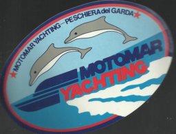 Autocollant - Motomar Yachting - Peschiera Del Garda - Italie Vénétie - Autocollants