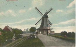 Brunsbuttelhafen (moulin Molen - Brunsbuettel