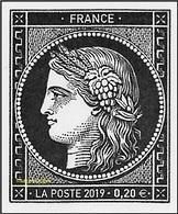 France N° 5305 ** 170 Ans Du Premier Timbre-poste Français CÉRÈS, Pour Complément 0.20 - France