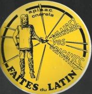 Autocollant - A.P.L.A.A.C. Cnarela - Association Des Professeurs De Langues Anciennes De L'Académie De Caen - - Autocollants