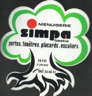 Autocollant - Menuiserie Simpa Bastia - Autocollants