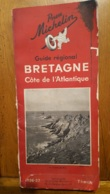 MICHELIN GUIDE REGIONAL BRETAGNE COTE DE L'ATLANTIQUE 1936-37 COMPOSE DE 176 PAGES PARFAIT ETAT - Michelin (guides)