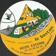 Autocollant - Camping Caravening Le Bastan - 65120 Esterre (Hautes-Pyrénées) - Autocollants