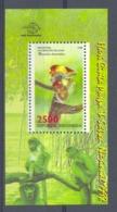 Nff1924 FAUNA NEUSAAP APEN ZOOGDIEREN MONKEYS MAMMALS APES NASENAFFEN SINGES INDONESIA 1998 PF/MNH - Apen