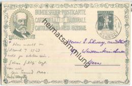 Bundesfeier-Postkarte 1919 - 7 1/2 Cts - Gottfried Kellers 1872 - Zugunsten Der Schweizerischen Schillerstiftung - Stamped Stationery
