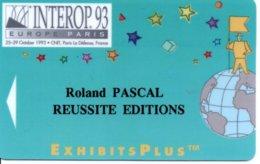 Carte Salon  Magnétique Interop.93  Card Karte (G194) TBE - Cartes De Salon Et Démonstration