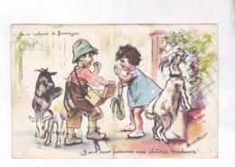 CPA  GERMAINE BOURET,LE MARCHAND DE FROMAGES - Bouret, Germaine